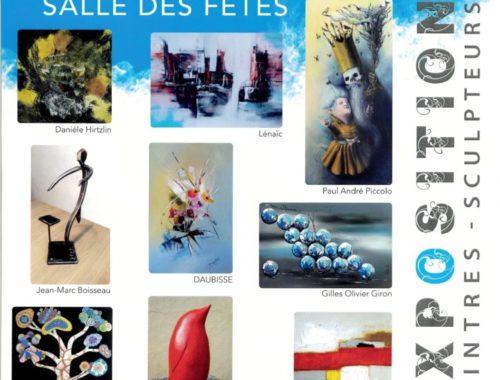 Affiche exposition de Civrac