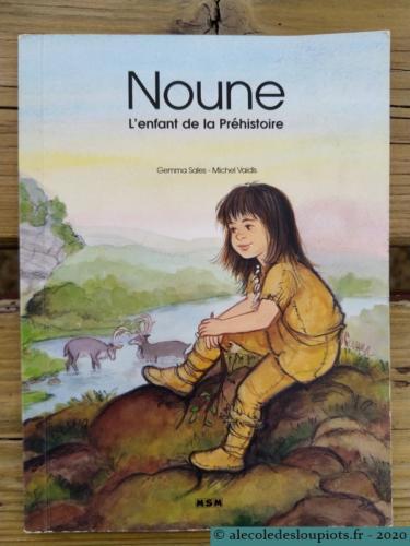 Noune, l'enfant de la préhistoire.