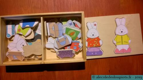 Puzzle lapins