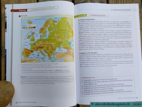 Géographie générale de l'Europe
